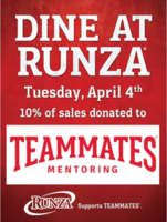 Runza Night For Cozad TeamMates