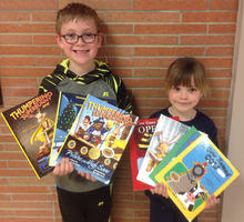 Donation to the Cozad Elementary Library