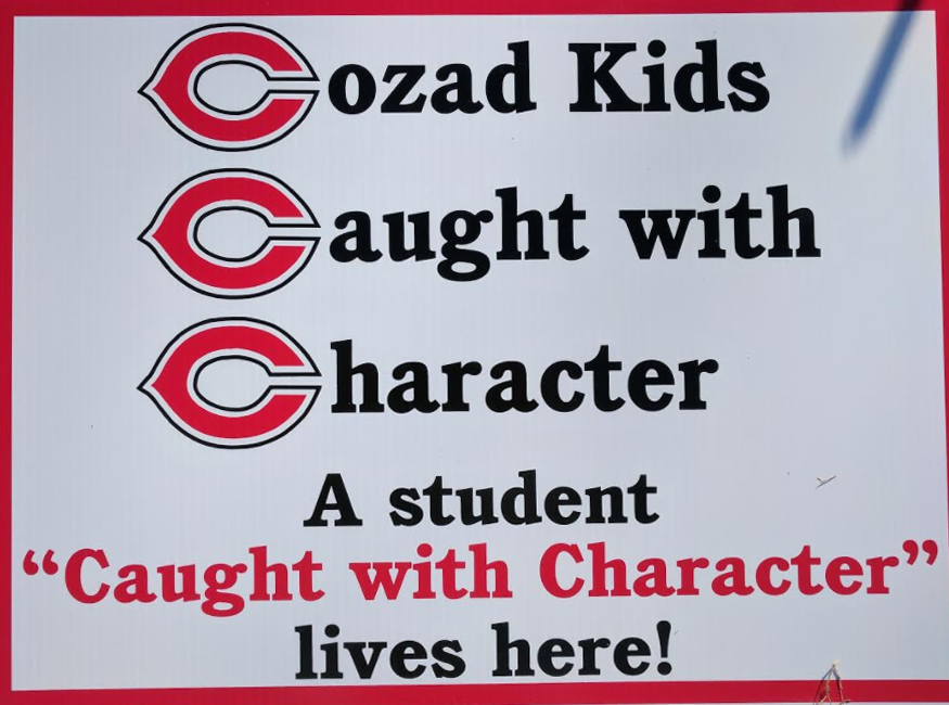 Cozad Kids Caught With Character