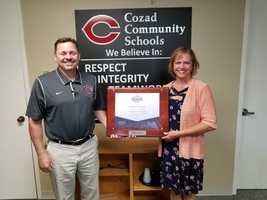 ​Cozad Community Schools Earns Continuing NCA CASI Accreditation