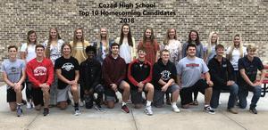 Top 10 Homecoming Candidates 2018
