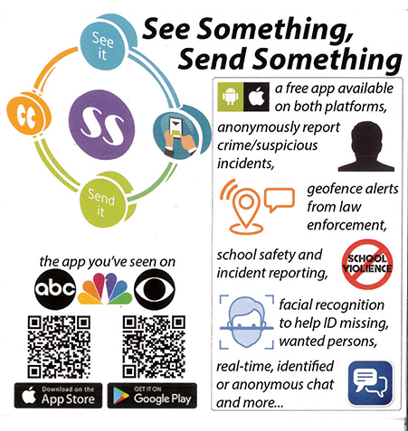 New App--See Something Send Something