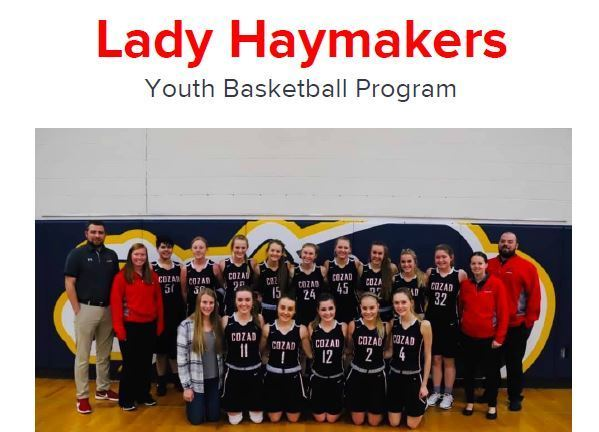 Lady Haymakers Youth Basketball Program