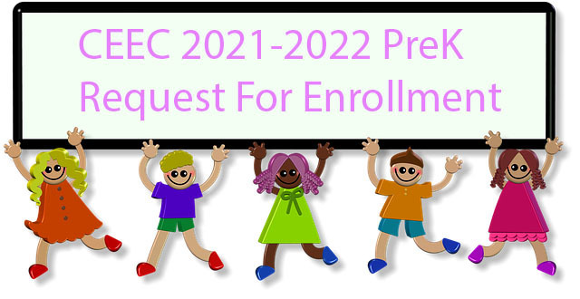 Enrollment Packet Request CEEC PreK