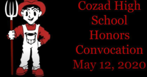 Cozad High School Senior Honors Recognition