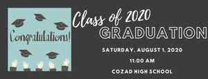 Graduation Ceremony Class of 2020