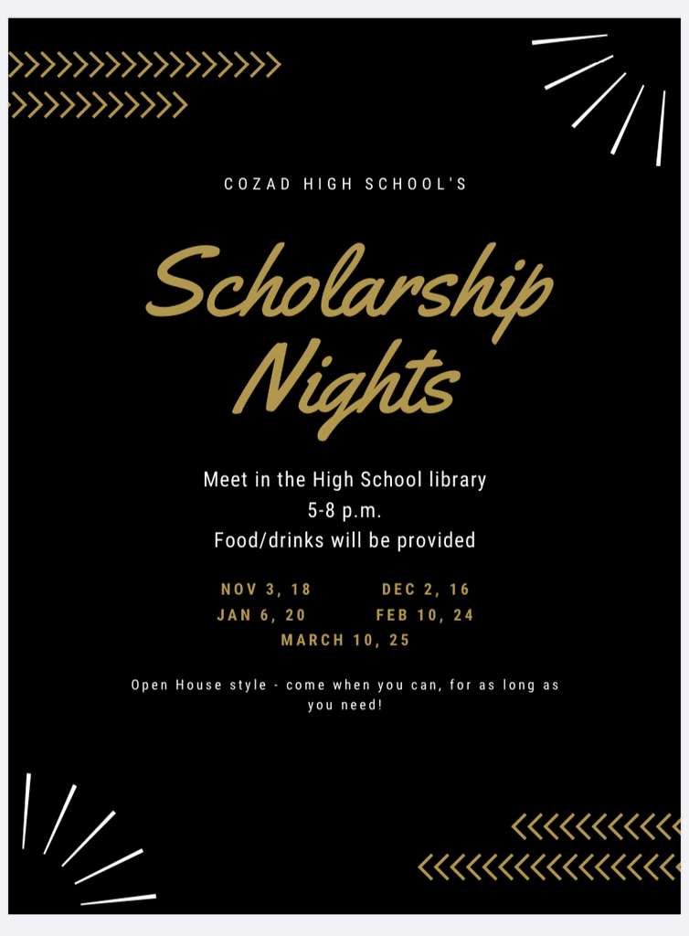 Senior Scholarship Nights
