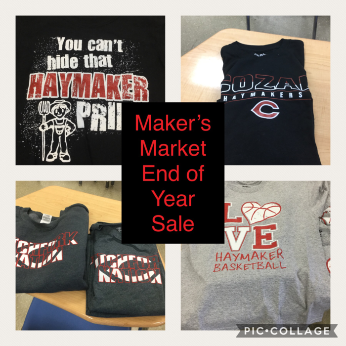 Maker Market End of Year Sale