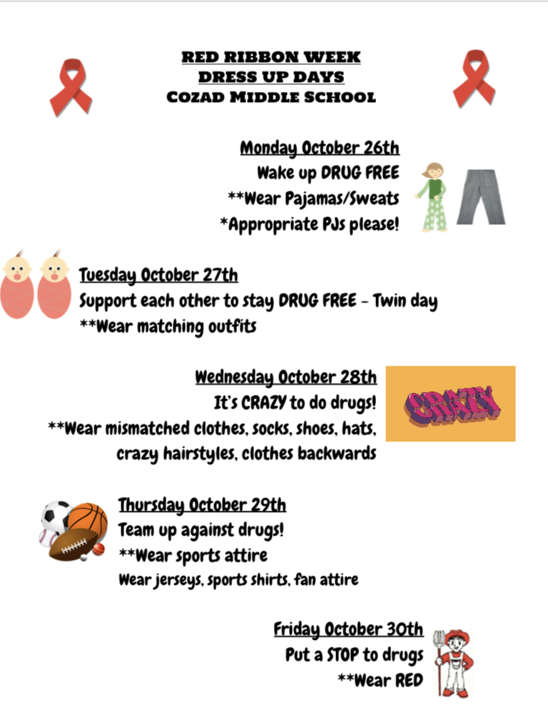 CMS Red Ribbon Week