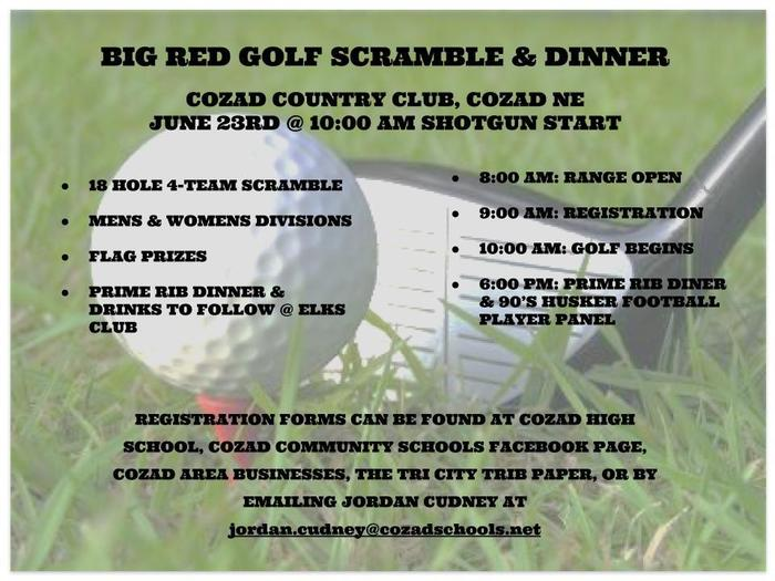 Golf Scramble Flyer
