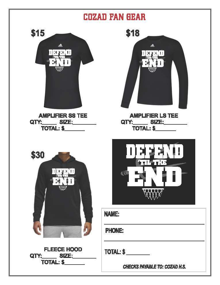 Cozad Girls BBall Fan Gear