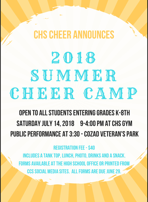 Summer Cheer Camp