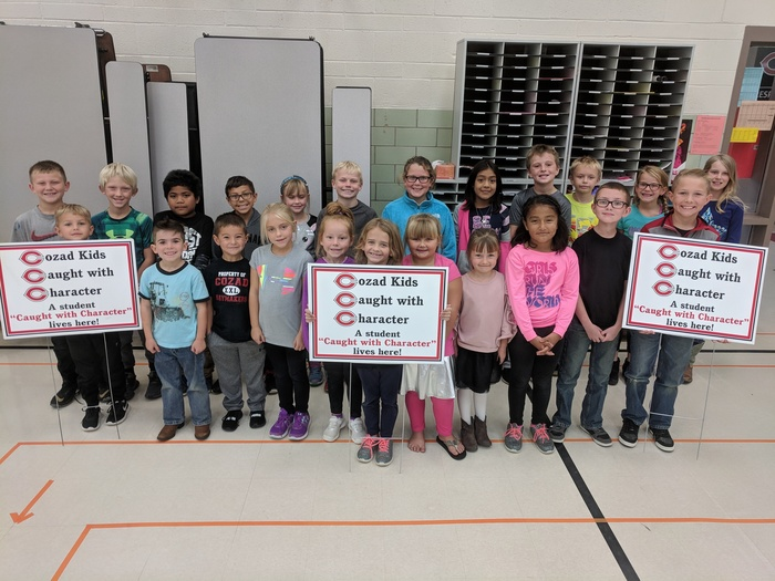 Cozad Kids Caught with Character September 2018