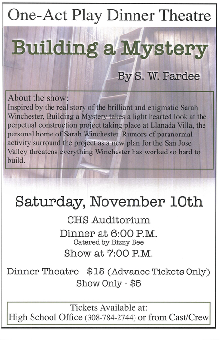 One-Act Dinner Theatre