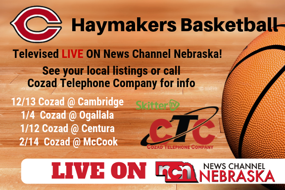 Haymaker Basketball Live on News Channel Nebraska
