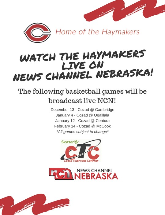 Cozad Basketball on News Channel Nebraska