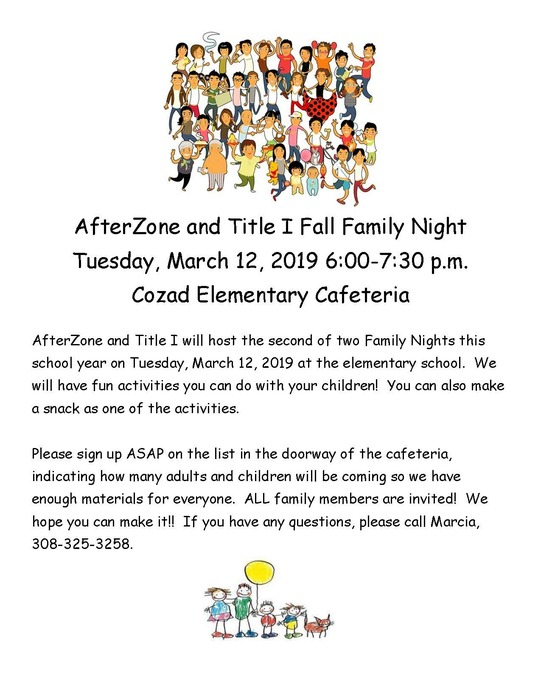AfterZone Family Night