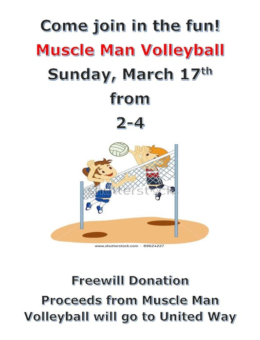 Muscle Man Volleyball 2019