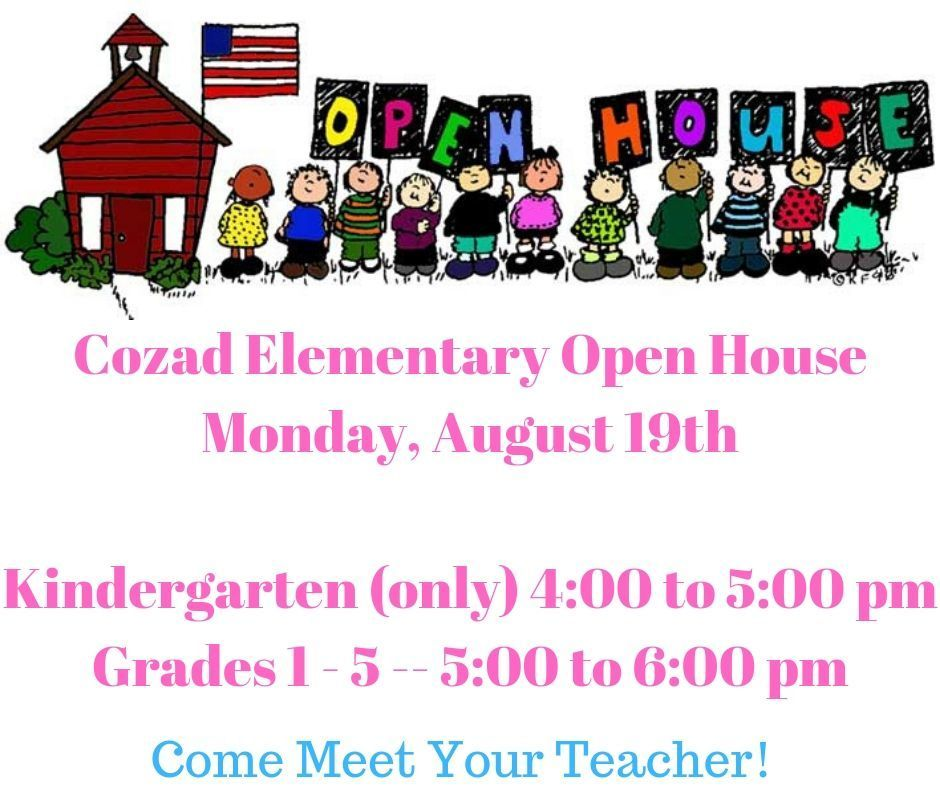 Elementary Open House