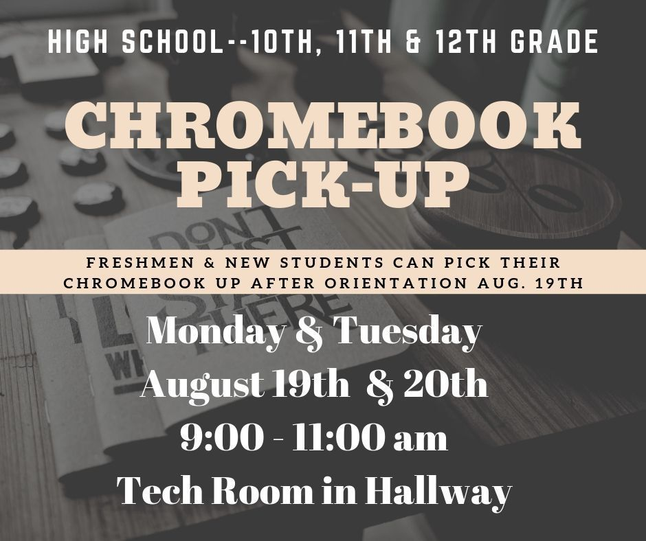 Chromebook Pickup HS