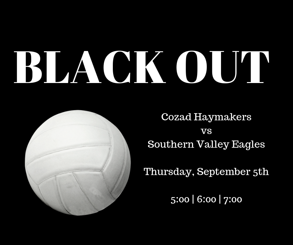 Volleyball Black Out