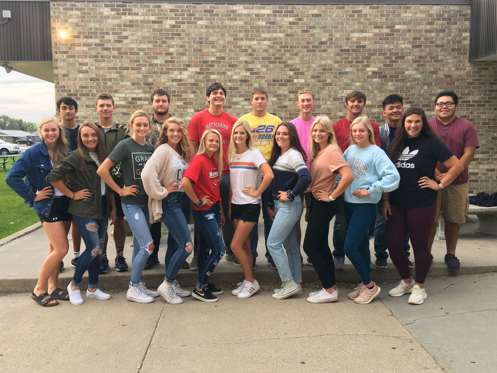2019 CHS Top Ten Homecoming Candidates