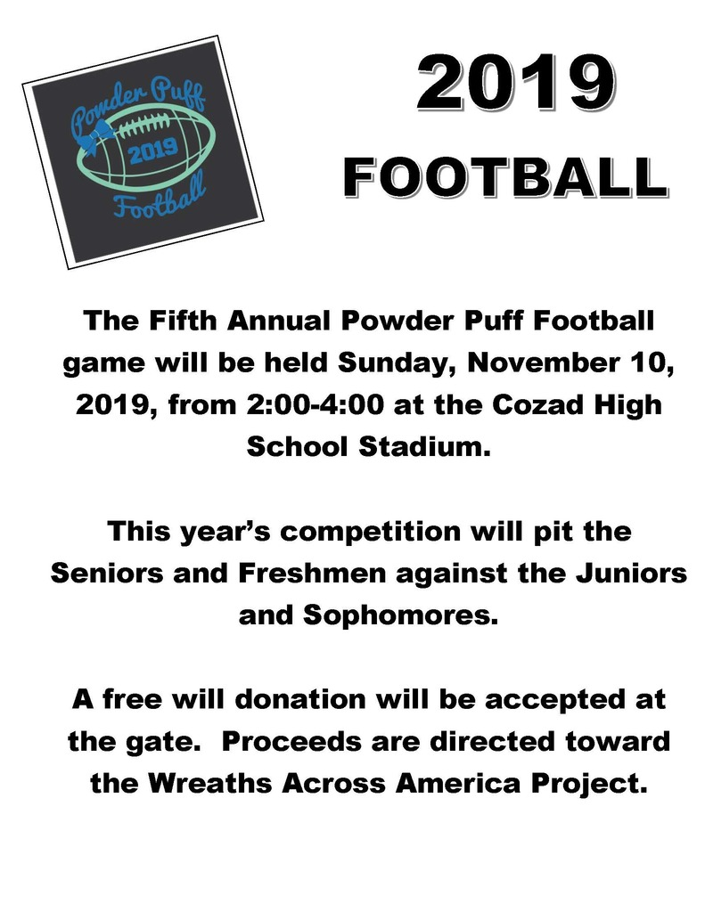 Powder Puff Football 2019