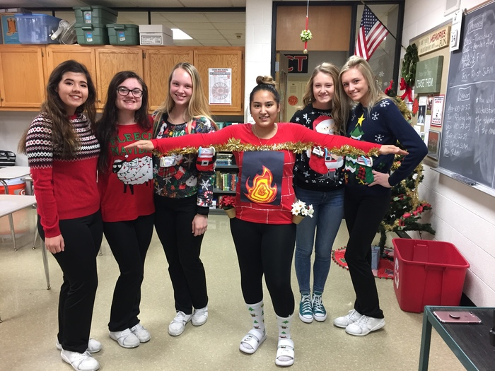 CHS Ugly Sweater