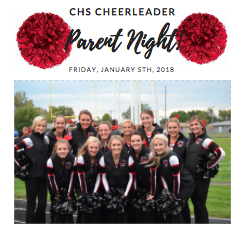 Cheer Parent Night