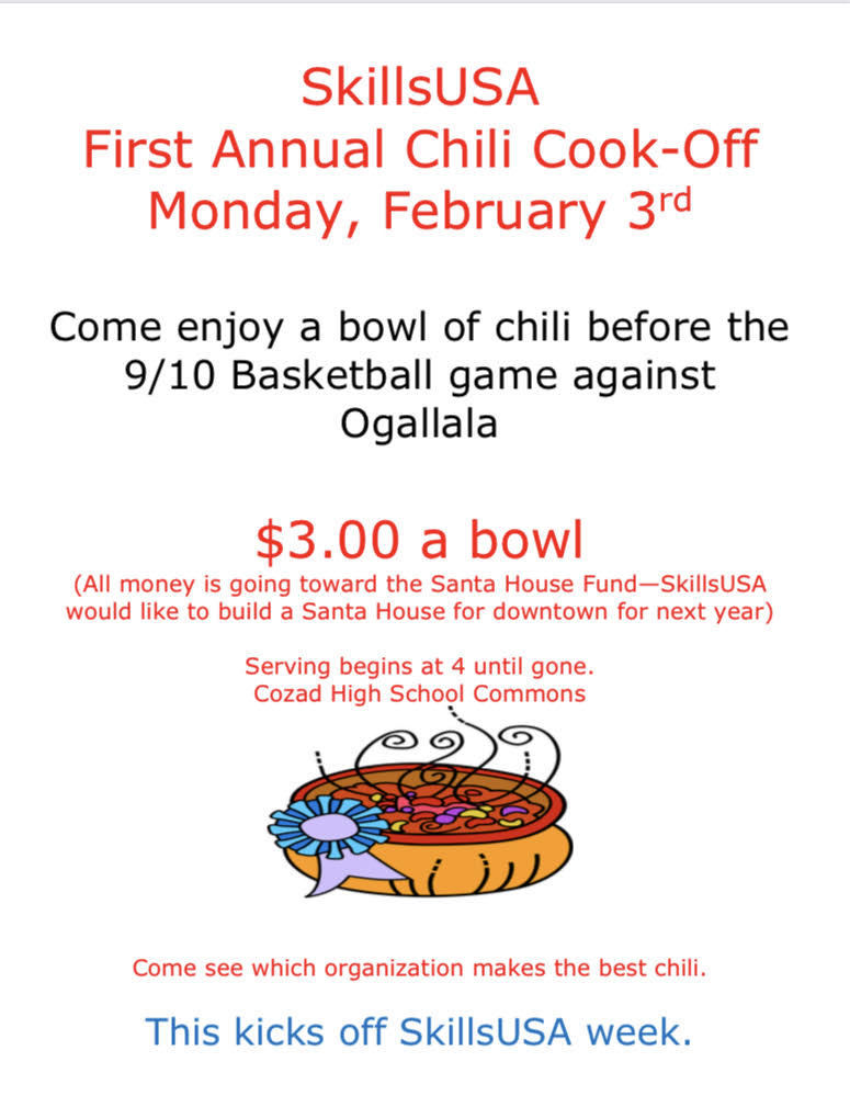 Skills USA Chili Cook Off