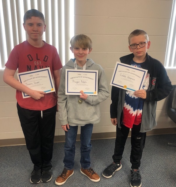 Cozad Middle School National Geographic Geography Bee