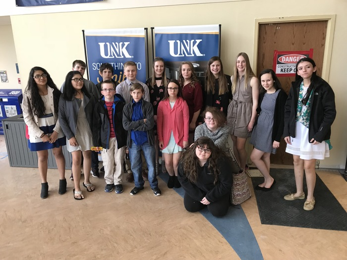 MS History at UNK Competitors