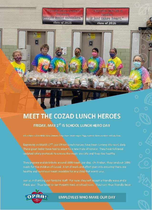 Cozad Lunch Heros
