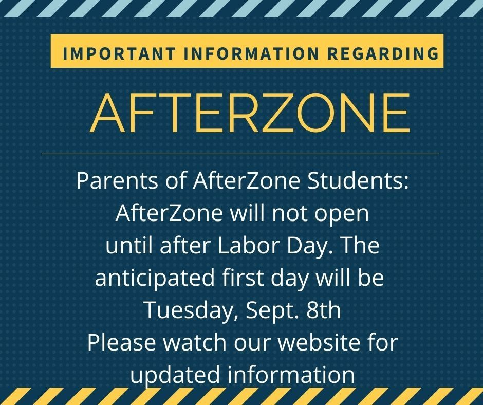 AfterZone begins after Labor Day