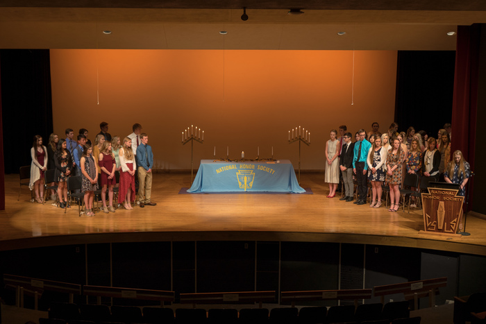 NHS Induction Ceremony 2018
